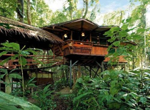 tree-house-lodge Kosta Rika, Amerika Tengah